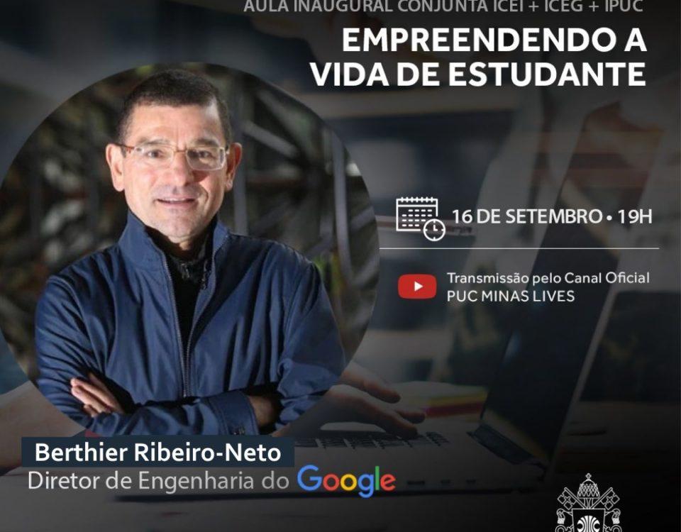 Engenharia do Google Aula inaugural conjunta IPUC, ICEI e ICEG terá participação do diretor de Engenharia do Google